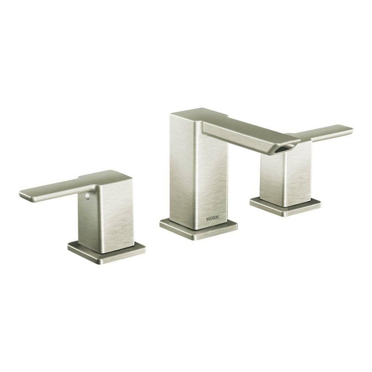 Moen TS6720BN 90 Degree Double-Handle Widespread Bathroom Faucet