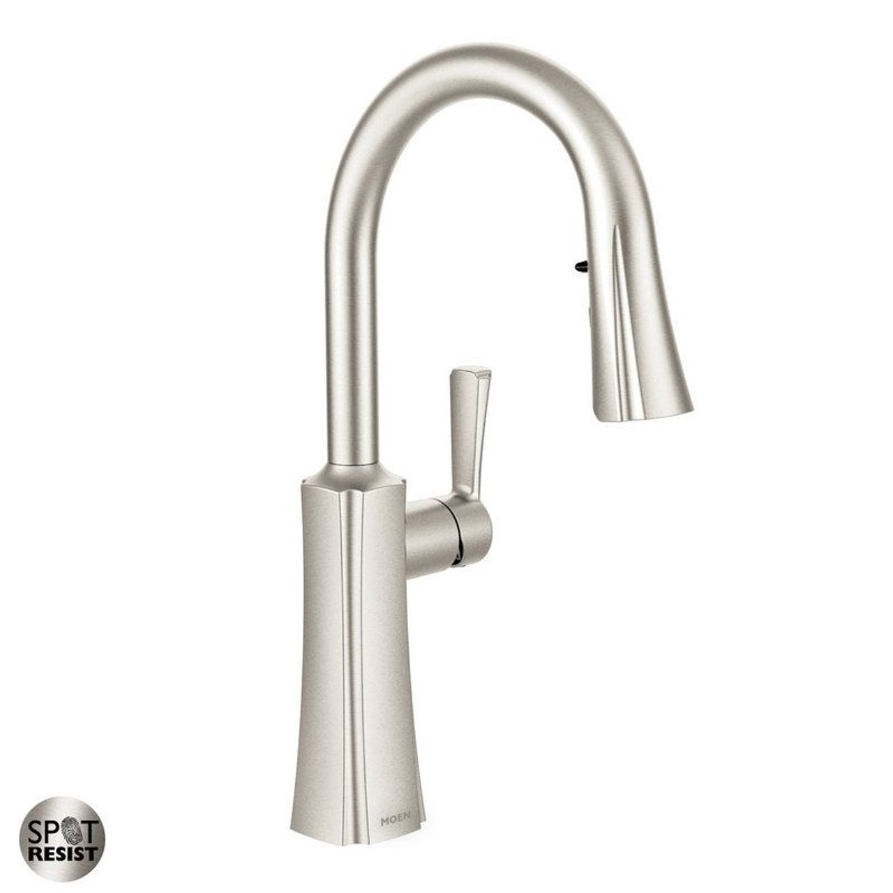 Moen S72608SRS Etch Single Pull-Down Kitchen Faucet