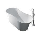 Freestanding Tub and Faucet Kit