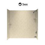 Swan Bathtub Walls