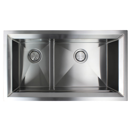 Transolid PUDO331911 Studio Stainless Steel 33-in Undermount Kitchen Sink