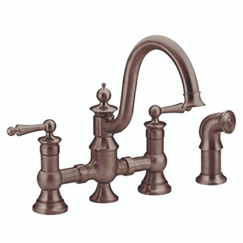 Moen S713ORB Waterhill 2-Handle Kitchen Faucet
