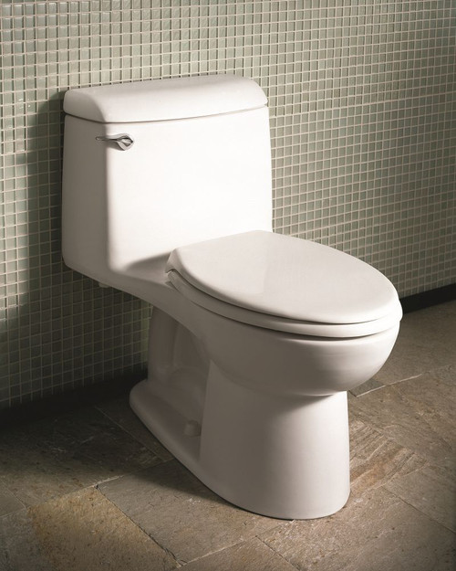 Awesome American Standard 2034314 021 Champion 1 6 Gpf Elongated One Piece Toilet With Toilet Seat Machost Co Dining Chair Design Ideas Machostcouk