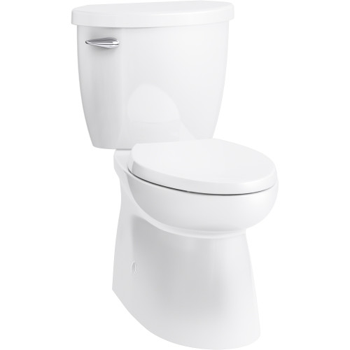 Terrific Sterling 402095 Cs 0 Brella Elongated Comfort Height Skirted 2 Piece Toilet With Brevia Toilet Seat And Readylock Short Links Chair Design For Home Short Linksinfo