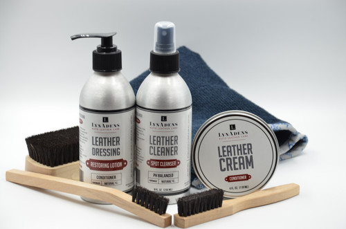 LynAdens Auto Leather Care Kit