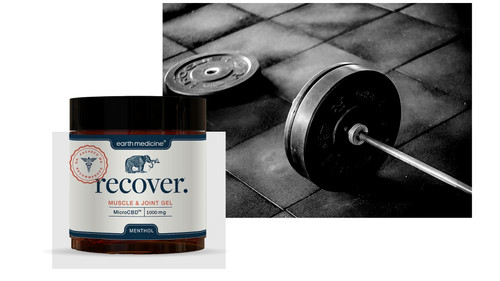Recover Gel 1000g w/Barbell