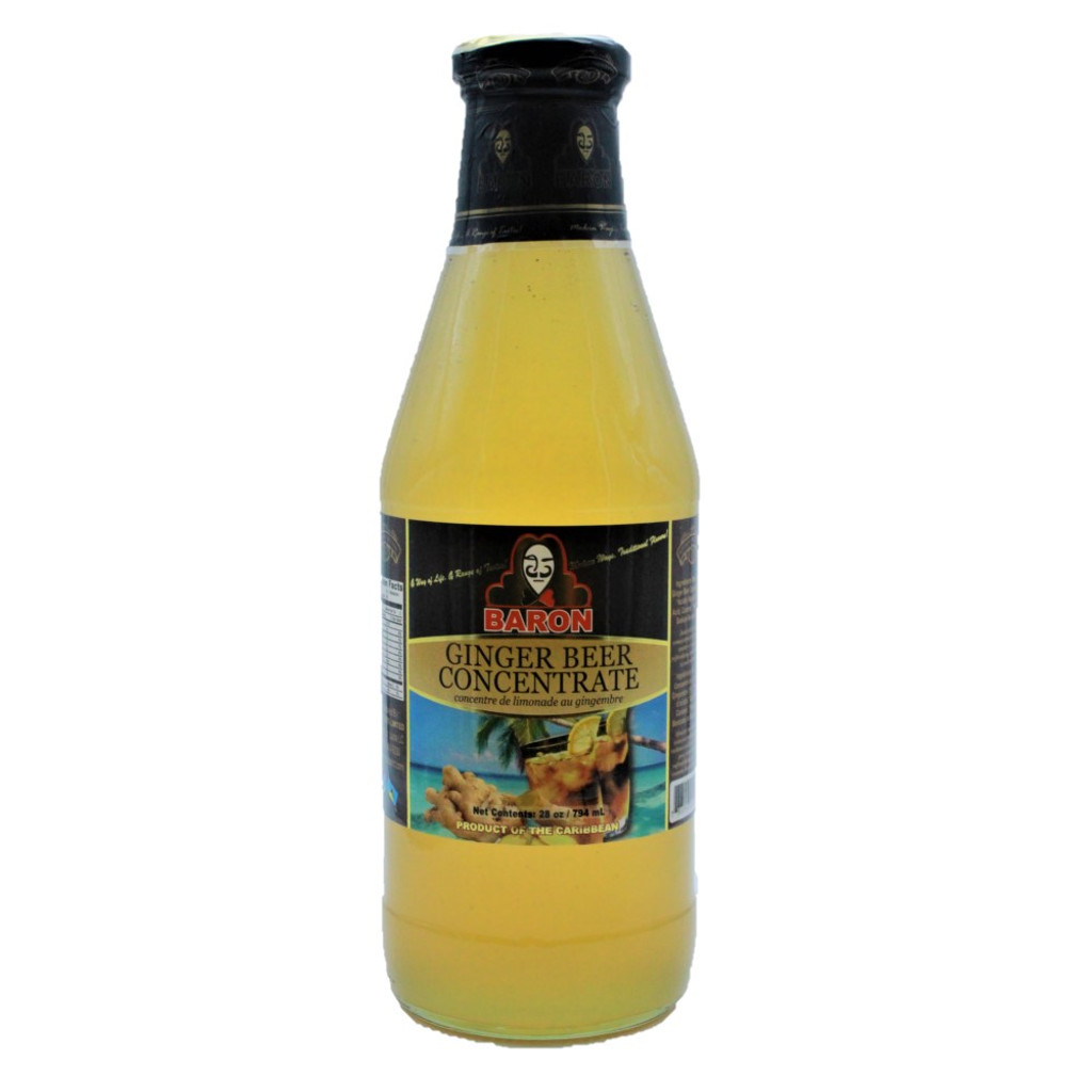 Baron Ginger Beer Concentrate 26oz