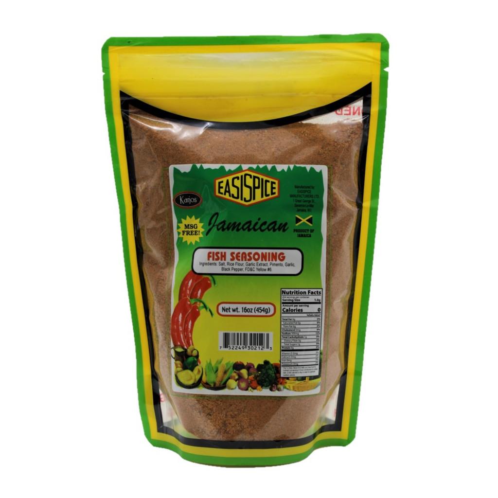 Easi Spice Fish Seasoning 454g Bag
