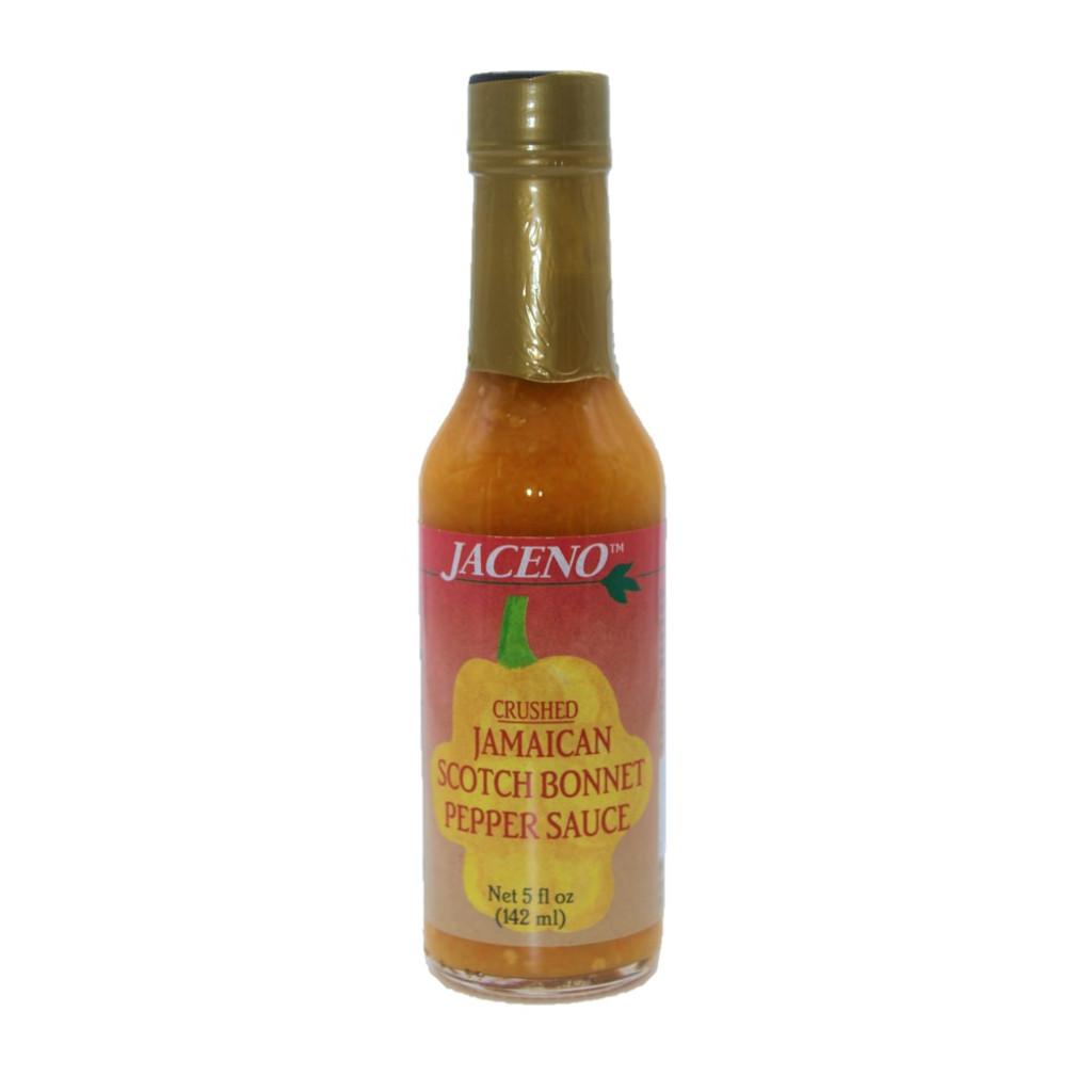 Jaceno Scotch Bonnet Pepper Sauce 5oz