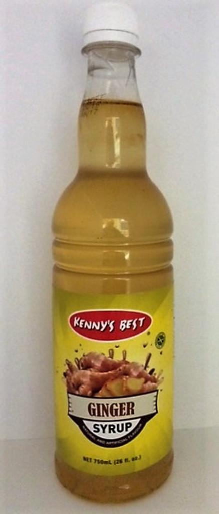 Kenny's Best Ginger Syrup 26oz