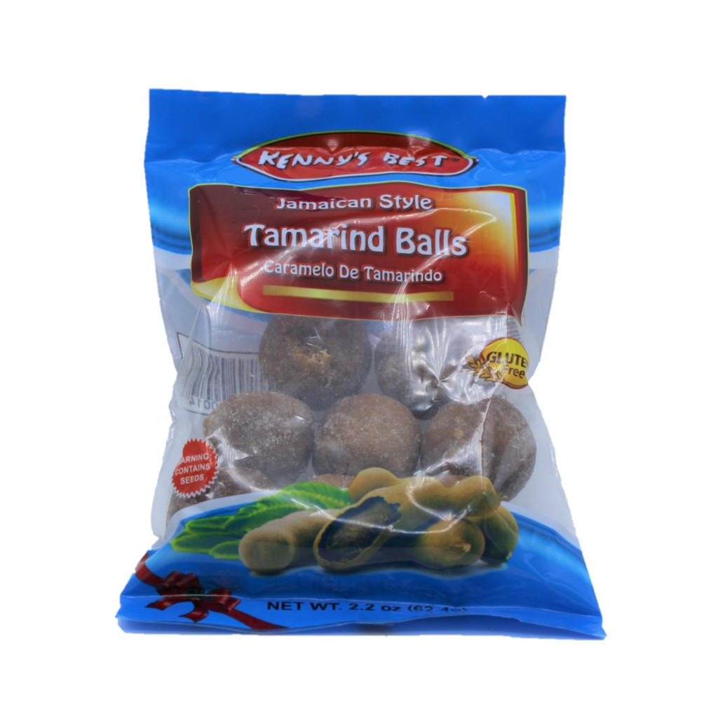 Kenny's Best Tamarind Balls 5 x 2.2oz bags