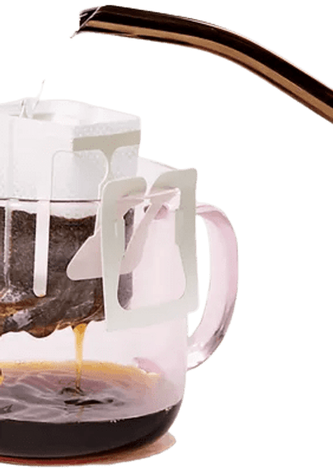 Three Packets Pour-Over Coffee