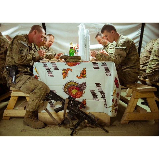 What It's Like to Be Deployed on Thanksgiving