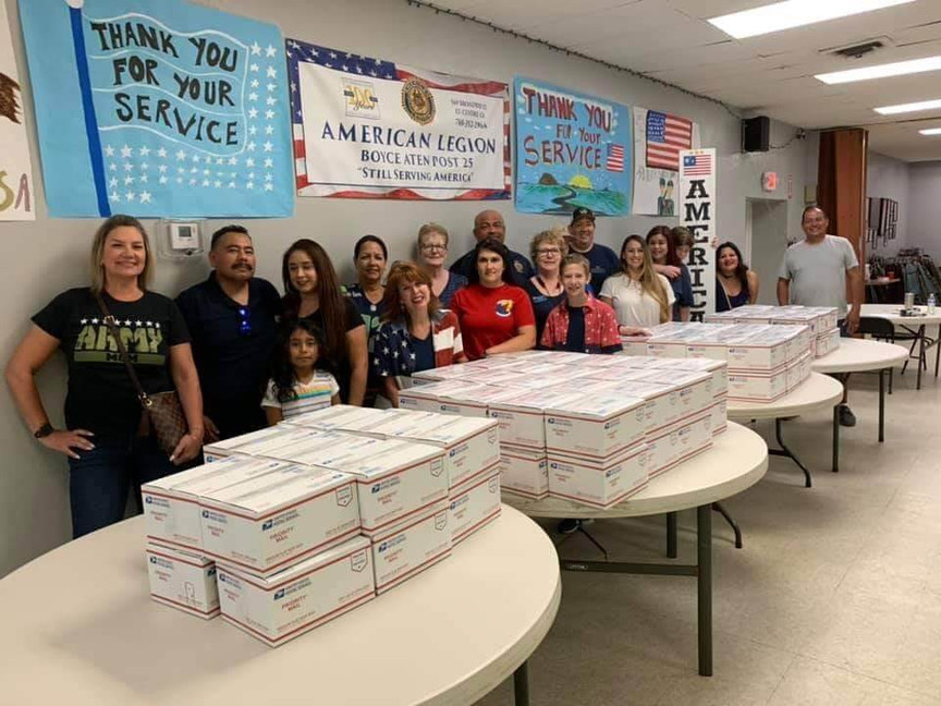 How One Community Sent 100+ Care Packages to Deployed Troops (and you can too!)