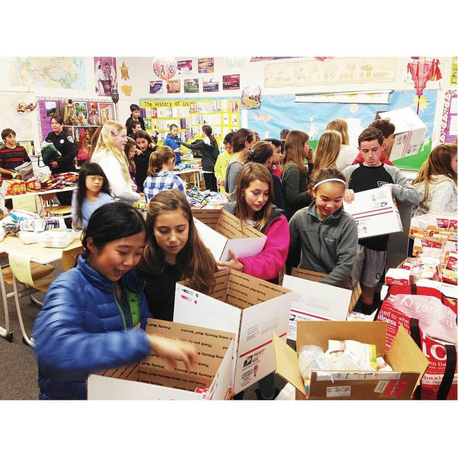 How to Get Your School Involved in Sending Care Packages