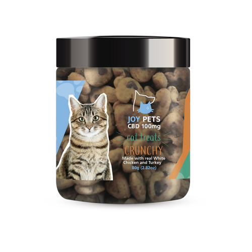 JoyPets CBD – Cat Treats – Crunchy