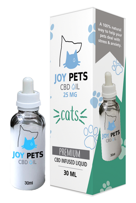 At R.A. Royal CBD, we create and select products keeping you and your loved ones in mind. JoyPets CBD is an organic CBD oil additive for cats. Like us, our furry best friends might be suffering from stress, anxiety, or pain from illnesses or elder age discomfort. Our goal is to provide comfort and natural alternatives for cats.