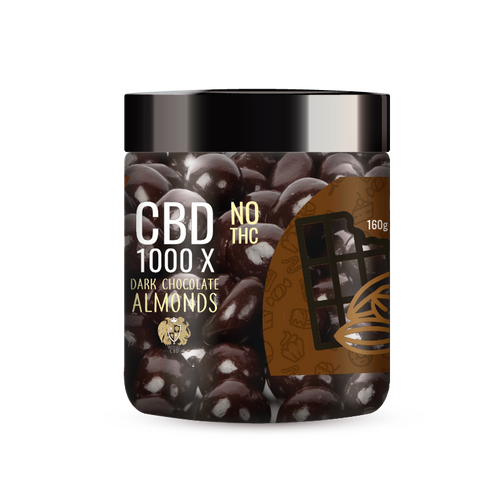 R.A. Royal Sweets 1000x CBD Dark Chocolate Cocoa Almonds provide a natural CBD hemp extract in your favorite Sweets ! The delectable CBD Dark Chocolate Cocoa Almonds manufactured from industrial hemp plants will let you experience the delicious benefits of CBD oil.  NO THC.