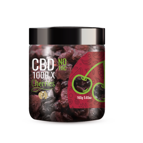 R.A. Royal Fruits 1000x CBD Infused Cherries provide a natural CBD hemp extract in your favorite fruity taste! The delectable CBD infused fruits manufactured from industrial hemp plants will let you experience the delicious benefits of CBD oil.  NO THC.