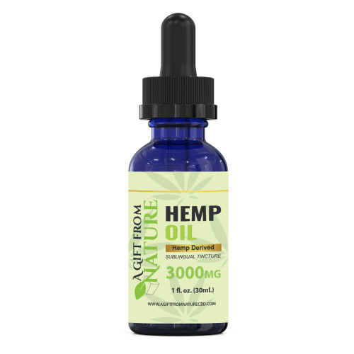 CBD Oil Sublingual Tincture 3000mg