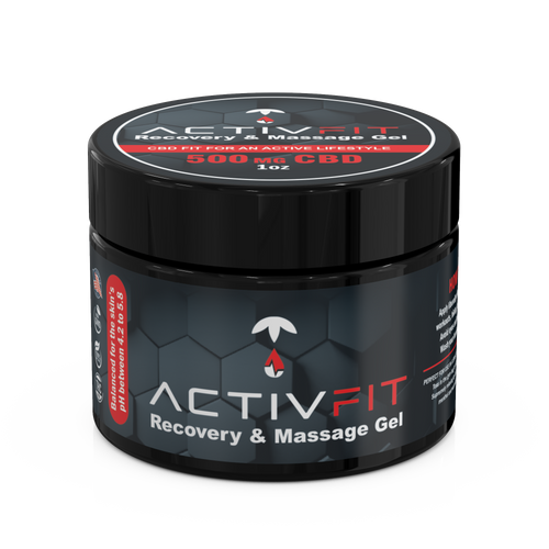 ActivFit Recovery Massage Gel (1oz) 500mg