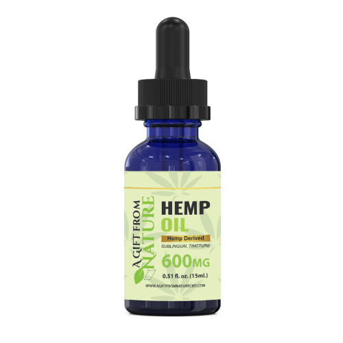 CBD Oil Sublingual Tincture 600mg