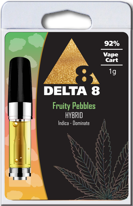 Delta-8 Hybrid Fruity Pebbles 1ML - 92%