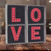 Freestanding Lighted Letters