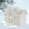 Winter Village Freestanding Lace Police Station