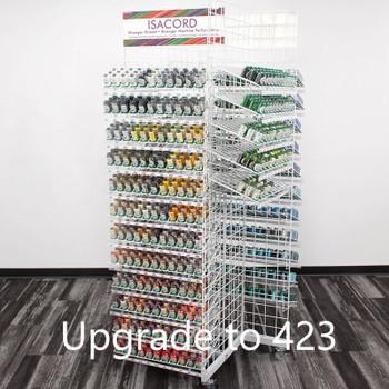 313 Isacord Thread w/Rack