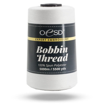 Bobbin Thread Cone - White