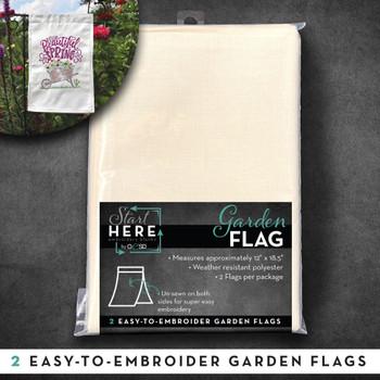 OESD Garden Flag 2pk