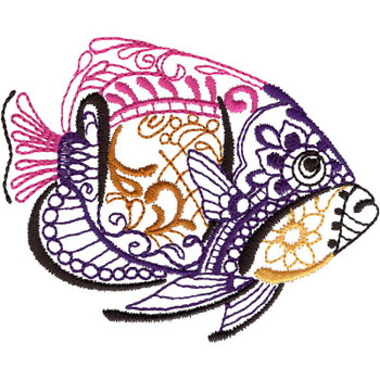 Majestic Tropical Fish