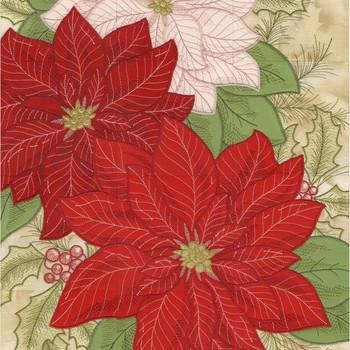 Poinsettia Tiling Scene