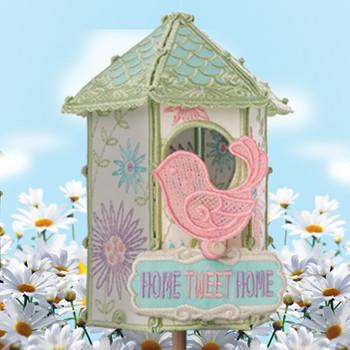 Daisy Birdhouse