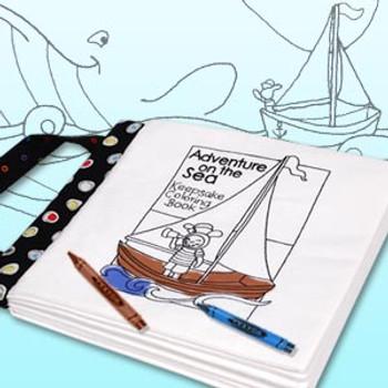 Adventure on the Sea Keepsake Coloring Book