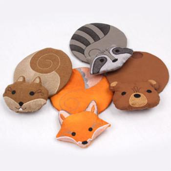 Cuddly Critters Mug Rugs