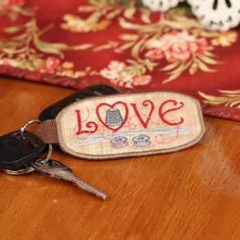 In The Hoop Key Chains & Tags