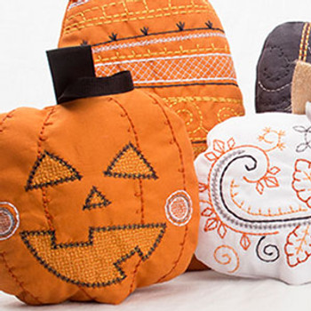 Stitch 'N' Turn Pumpkins
