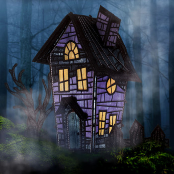 Freestanding Haunted House 2