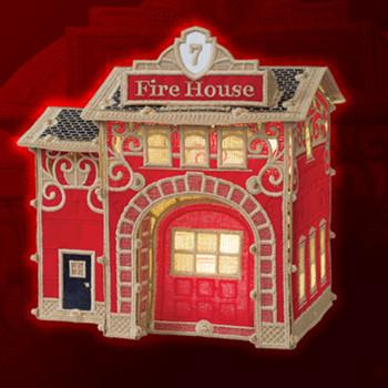 Christmas Village Firehouse