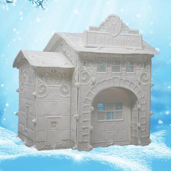 Winter Village Freestanding Firehouse