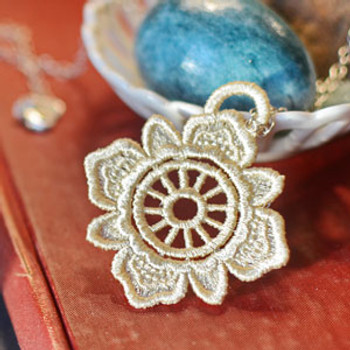 Freestanding Lace Pendants