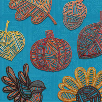 Freestanding Modern Autumn Lace