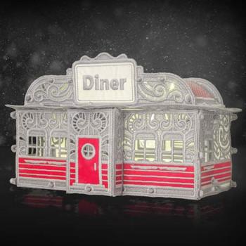 Winter Village Freestanding Diner