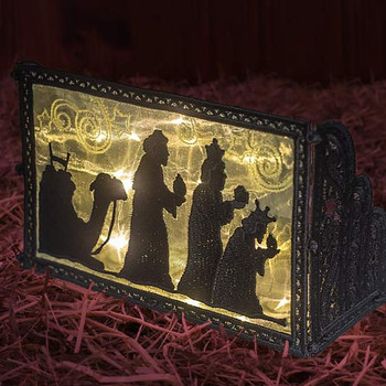 Freestanding Nativity Light Boxes