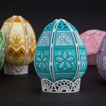Freestanding Easter Eggs II
