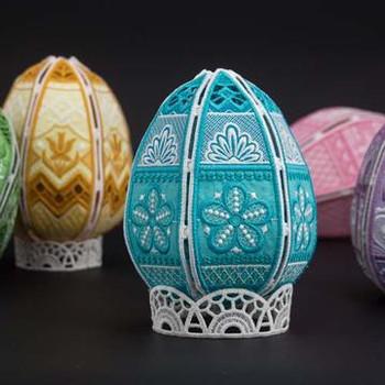 Freestanding Easter Eggs II