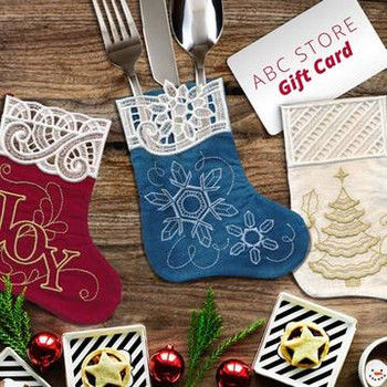 Stitch 'N' Turn Mini Christmas Stockings