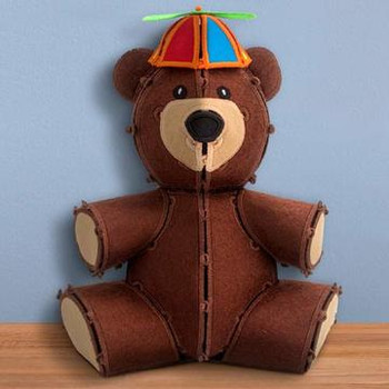 Freestanding Teddy Bear
